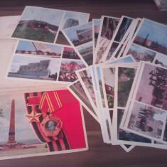 SET CARTI POSTALE MARI 23 BUC.1978 ODESSA COMEMORARE AL II RAZBOI MONDIAL - Carte postala tematica, Necirculata, Printata