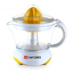 Storcator de citrice Dekassa, 700 ml, 25 W, Alb/Galben