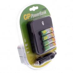 Incarcator acumulatori GP, 2700 mAh, 4 x NiMH - Incarcator Camera Video GP Batteries