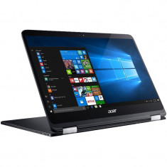 Laptop Acer 14'' Spin 7 SP714-51, Touch, Intel Core i7-7Y75, 8GB, 256GB SSD, GMA HD 615, Win 10 Pro