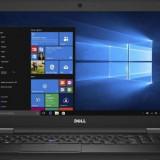 Laptop DELL 15.6'' Latitude 5580 (seria 5000), FHD, Procesor Intel® Core™ i7-7600U, 8GB DDR4, 256GB SSD, GMA HD 620, Win 10 Pro,