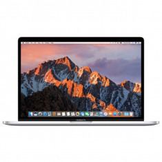 Laptop Apple 15.4'' New MacBook Pro 15 Retina, i7 2.6GHz, 16GB, 256GB SSD, Radeon Pro 450 2GB, Mac OS Sierra, Silver, INT keyboa - Laptop Macbook Pro