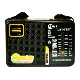 Radio portabil Leotec LT-613UC, 3 benzi, player USB/SD