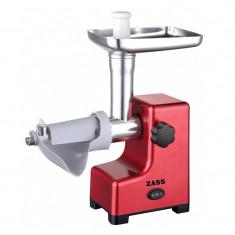 Masina de tocat Zass ZMG 03, 800W, accesoriu rosii - Masina de Tocat Carne