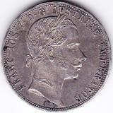 1 Florin Forint Gulden 1859 A Austria Ungaria argint 12, 3 gr. XF+, Europa