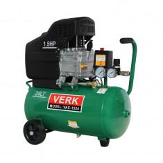 Compresor de aer VAC-1524 Verk, 24 l, 1.5 CP