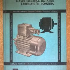 C. Raduti, E. Nicolescu - Masini electrice rotative fabricate in Romania