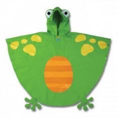 Poncho copii Frog Stephen Joseph, Verde