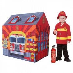 Cort de joaca pentru copii Statia de Pompieri Knorrtoys - Casuta copii Knorrtoys, Multicolor