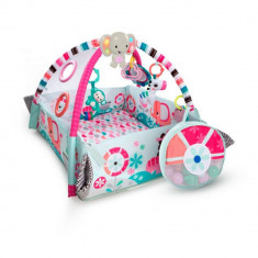 Salteluta de activitati 5 in 1 Your Way Ball Pink Bright Starts - Set mobila copii
