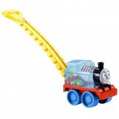 Antepremergator Locomotiva Thomas cu bile si maner Fisher Price, 6-12 luni, Multicolor