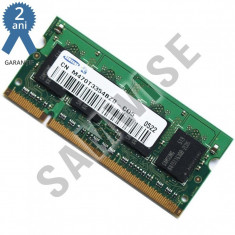 Memorie 2GB Laptop, Notebook, Samsung DDR2 667MHZ SODIMM......GARANTIE 2 ANI !! - Memorie RAM laptop