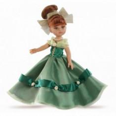 Papusa Cristi printesa in rochie verde Paola Reina