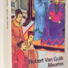 MEURTRE A CANTON par ROBERT VAN GULIK, 1986 - Carte in alte limbi straine
