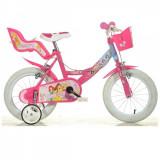 Bicicleta Princess 14 inch Dino Bikes - Bicicleta copii