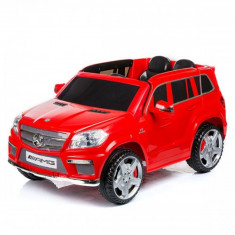 Masinuta electrica SUV Mercedes Benz GL63 AMG Red Chipolino - Masinuta electrica copii