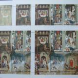 UMM AL QIWAIN, PICTURI, DRUMUL CRUCII, 5 X 1 M/SH 6 V, OBLIT., WS 47, Arta