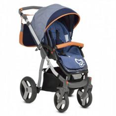 Copii 3 In 1 Mommy Albastru MyKids - Carucior copii 3 in 1