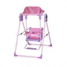 Leagan cu copertina Pink Bertoni - Balansoar interior Bertoni, Plastic