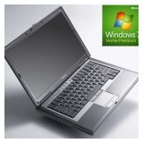 Laptop refurbished Dell Latitude D630 CoreDuo T7250 2.0GHz/4GB/320GB cu Windows - Laptop Dell, Diagonala ecran: 14
