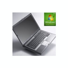 Laptop refurbished Dell Latitude D630 CoreDuo T7250/2GB/160GB cu Windows 7 Home - Laptop Dell, Diagonala ecran: 14