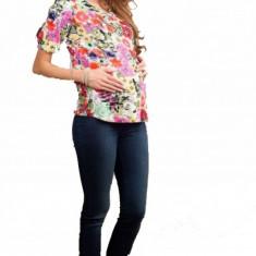 Pantalon jeans pentru gravide Eliza S (40) MaJore - Blugi gravide