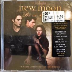 Coloana sonora Twilight - New Moon (Muse, Killers, Editors) (1 CD original) - Muzica soundtrack warner