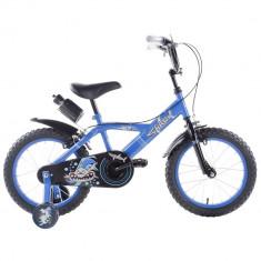 Bicicleta copii Shark 14 inch Schiano Kids, Albastru