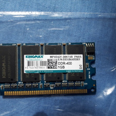 KINGMAX 1Gb ddr1 PC 400 rami perfect fuctionali (R58) - Memorie RAM