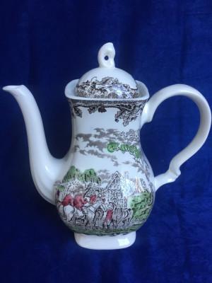 ceainic englezesc portelan foto