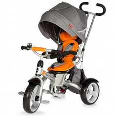 Tricicleta multifunctionala Giro Portocaliu Coccolle - Tricicleta copii