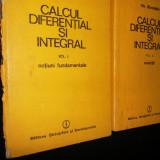 Calcul Diferential Si Integral Vol.1-2 - Gh. Siretchi - Carte Matematica