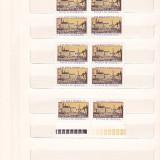 ZIUA MARCII POSTALE ROMANESTI ( LP 863 ) 1974 BLOC DE 4 + SERIE, Nestampilat