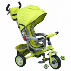 Tricicleta copii Sunny Steps 37-5 Green Baby Mix