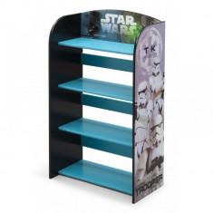 Raft carti si jucarii cu cadru din lemn Disney Star Wars Delta Children
