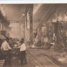 RESITA FORJARIA DIN RESITA - Carte Postala Banat dupa 1918, Necirculata, Printata