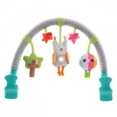 Jucarie carucior Arcada muzicala Bufnita Taf Toys - Jucarie carucior copii