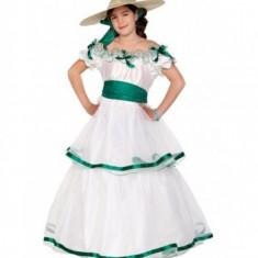 Costum Southern Girl 4-6 ani EuroCarnavales, Alb