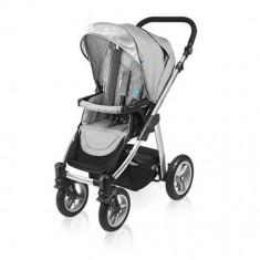 Carucior multifunctional 2 in 1 Lupo Gray Baby Design - Carucior copii 2 in 1