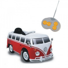 Masinuta MiniVan Volkswagen 12V Biemme - Masinuta electrica copii Biemme, Multicolor