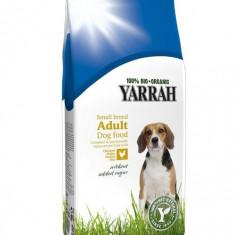 Hrana organica uscata cu pui, pentru caini Rase mici 2 kg, Yarrah