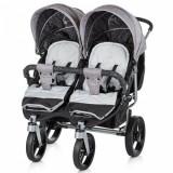 Carucior Twix 2017 Grey - Carucior copii 2 in 1 Chipolino
