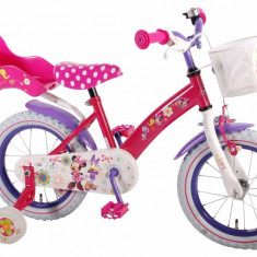 Bicicleta Minnie Mouse 14 inch E&L Cycles - Bicicleta copii E&L Cycles, Roz