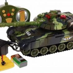 Tanc de lupta cu telecomanda Power Tank 9993 Camuflaj Verde Ramiz - Vehicul