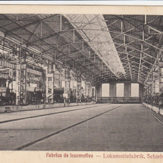 RESITA FABRICA DE LOCOMOTIVE EDITURA OTTO SCHWARTZ RESITA - Carte Postala Banat dupa 1918, Necirculata, Printata