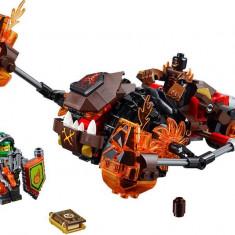 LEGO Nexo Knights - Zdrobitorul de lava al lui Moltor 70313