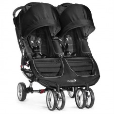 Carucior gemeni City Mini Double Black Baby Jogger