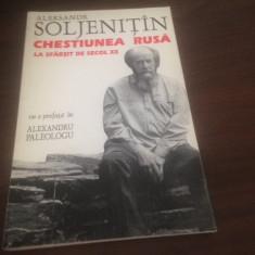 ALEKSANDR SOLJENITIN, CHESTIUNEA RUSA LA SFARSIT DE SECOL XX. ANASTASIA 1995 - Carti Crestinism