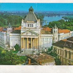 Bnk cp Arad - Palatul Culturii - circulata - marca fixa - Carte Postala Crisana dupa 1918, Printata