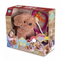 Catelusul Fifi la doctor D-Toys - Papusa D-Toys, 2-4 ani